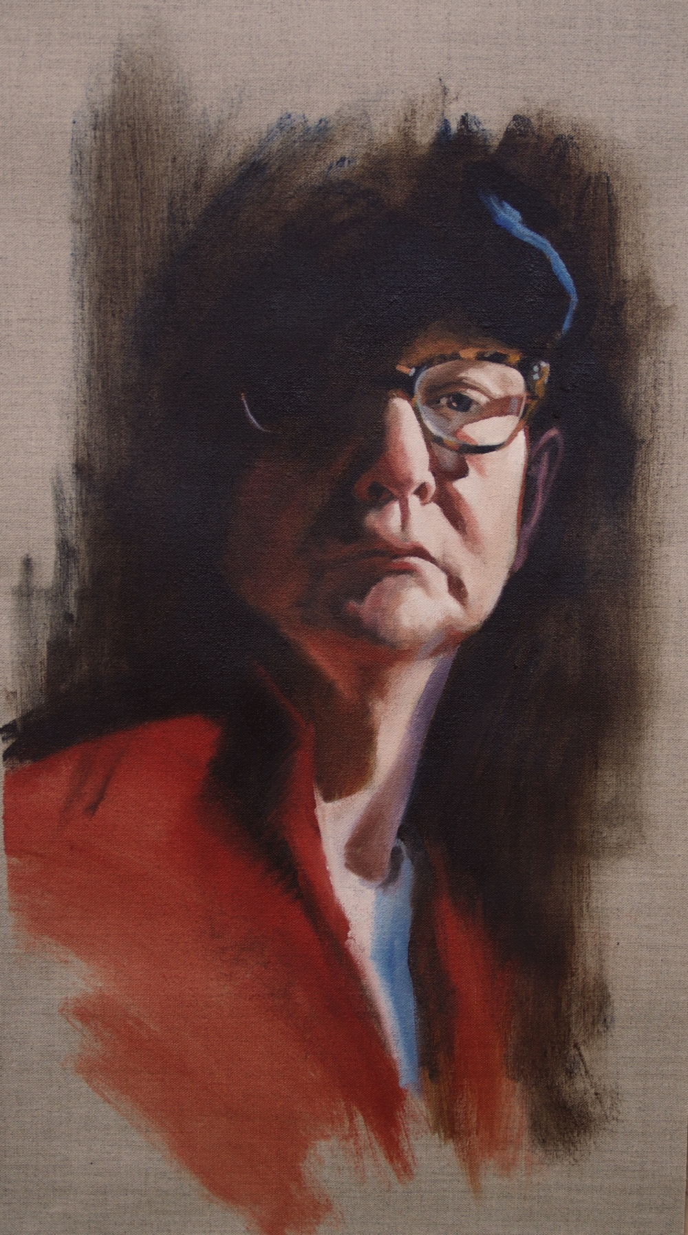 Self Portrait Oil on Linen