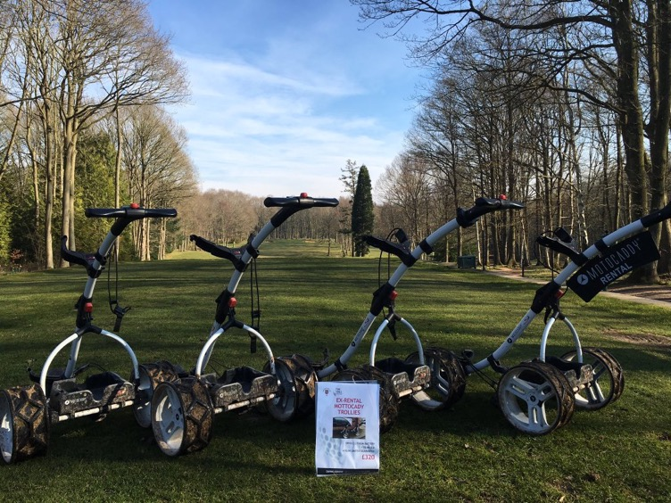 Motocaddy Trolleys