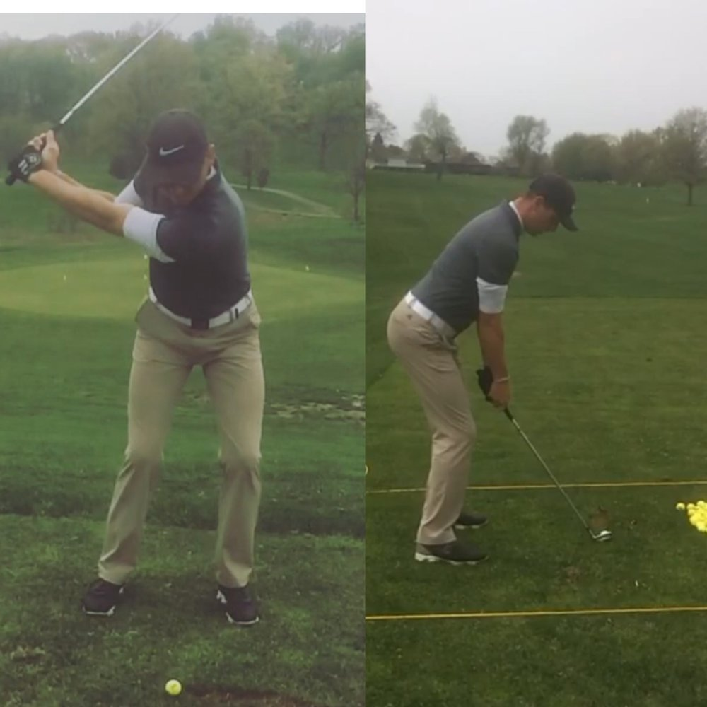 Niall Working Hard On His Swing Changes Via Video Link