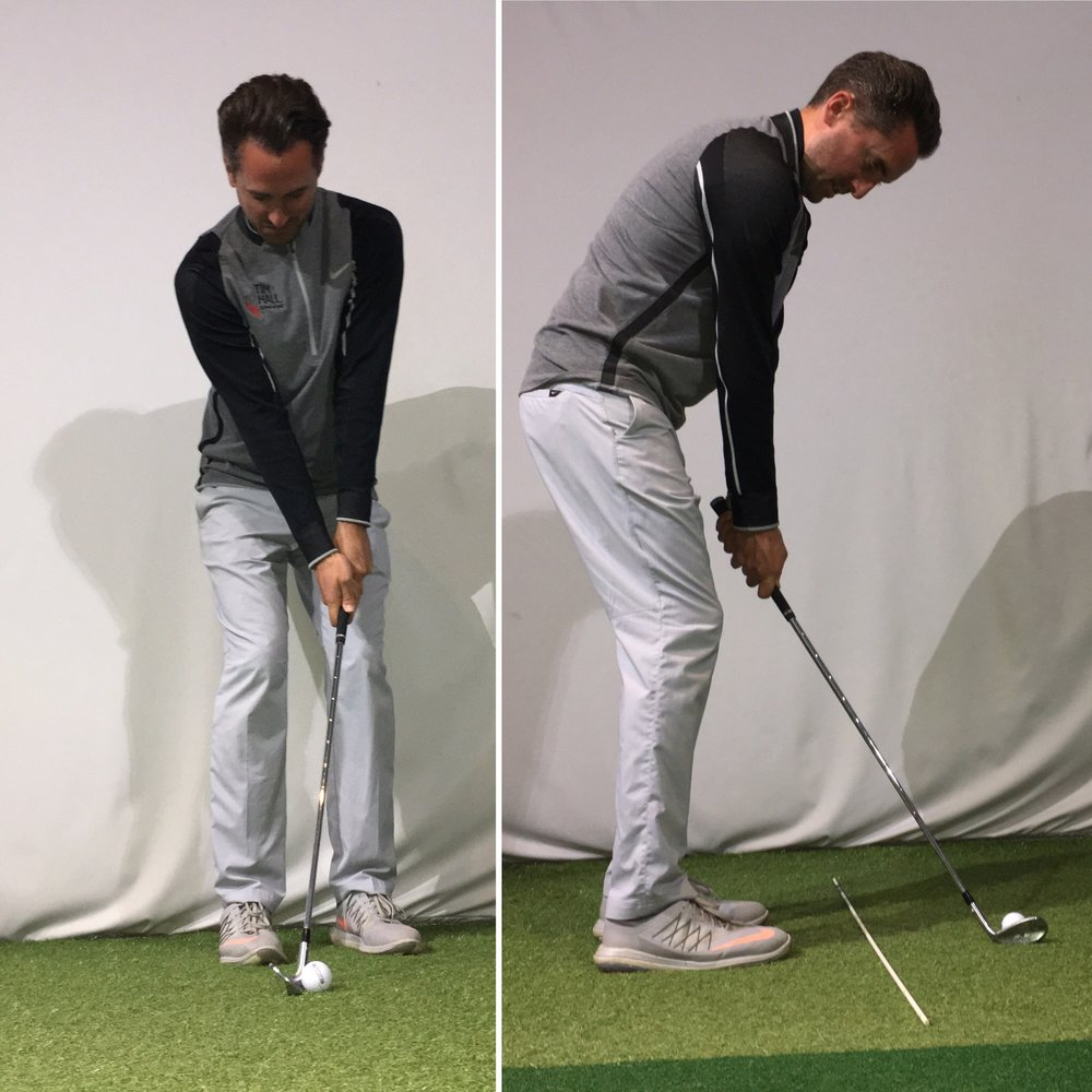 Incorrect Set-Up can lead to unwanted manipulation in the swing