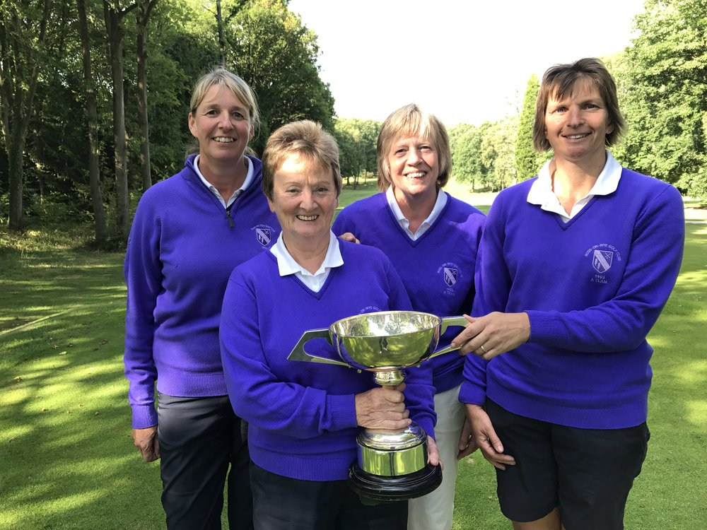 Our Fabulous Foursome - Congratulations Ladies