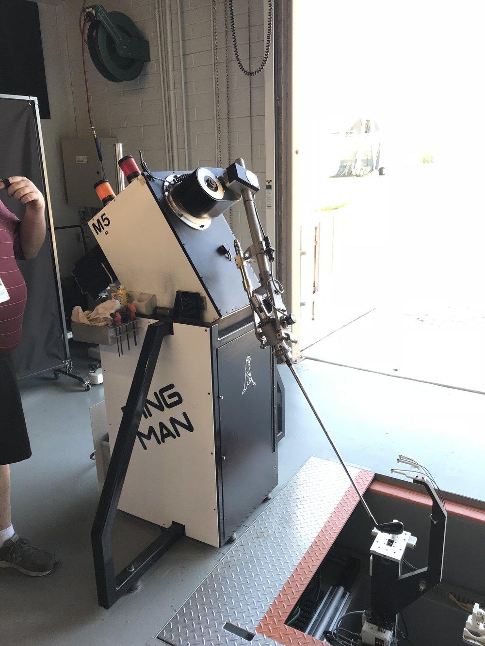 The PingMan Robot