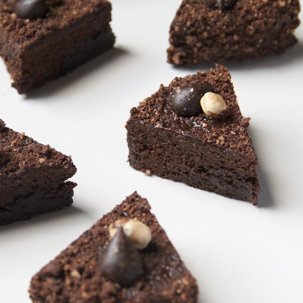 Chocolate-Hazelnut Gateau