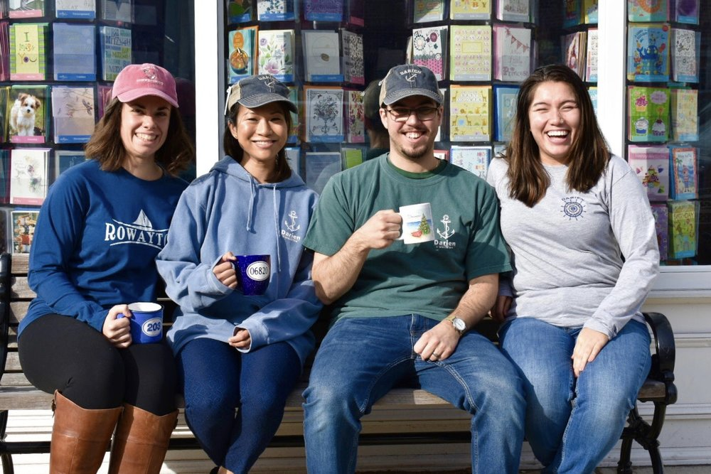 Grieb's Has You Covered! - Check out our selection of Darien and Rowayton clothing and gift ware!