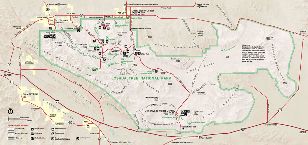 Plan Your Trip Joshua Tree Visitors Guide