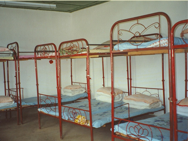 New dorm that sleeps 16 children