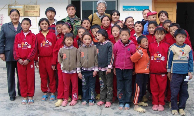 Children at Sichuan orphanage part 1