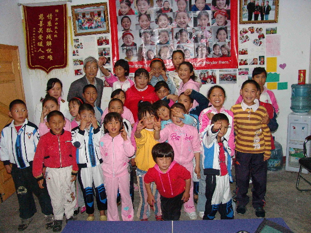 Children at Sichuan orphanage part 2