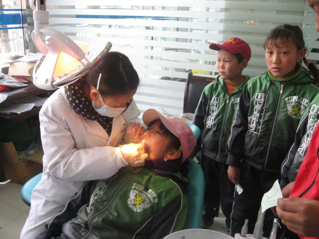 Dental check-ups in 2011