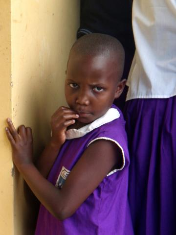 Child in Kasawo, Uganda part 1