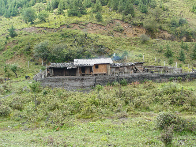 Yak herder home in Himalayan Mountains