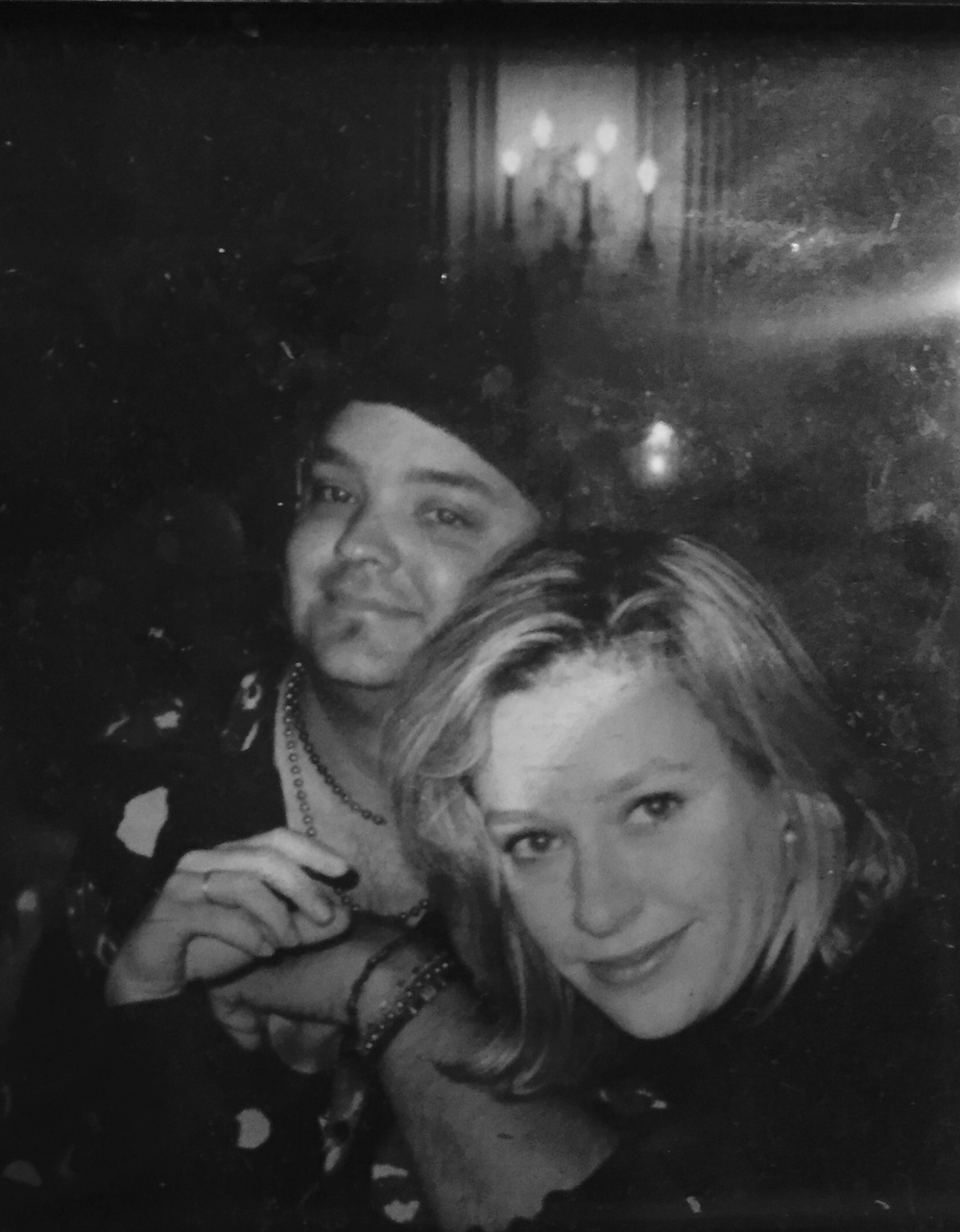 Kevin T. White with Shelby Lynne
