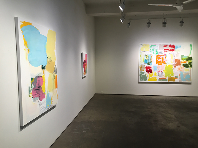 Installation view of A Delicate Balance at Elizabeth Harris Gallery l January 7 - February 13, 2016