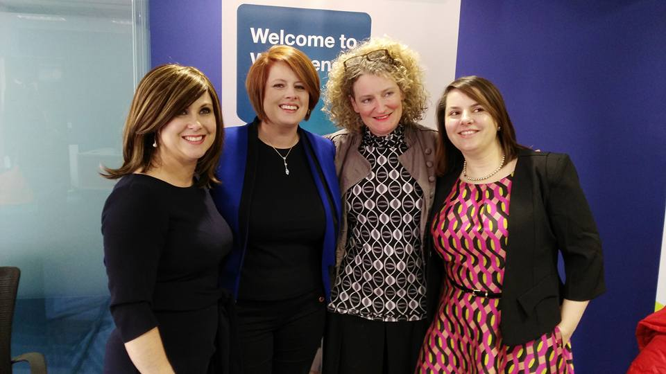 With Sinead Carroll, Breda Stackpool, Dolores Andrew-Gavin and Martha Fraser WIN Galway Meet Up