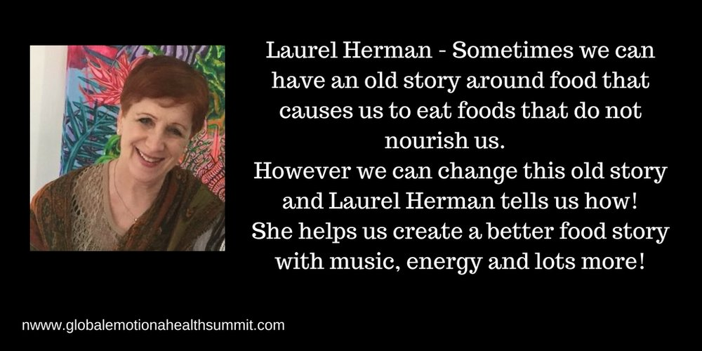 Sometimes we can have an old story around food that causes us to eat foods that do not nourish us. However we can change this old story and Laurel Herman tells us how! She helps us create a better food story with mus(3).jpg