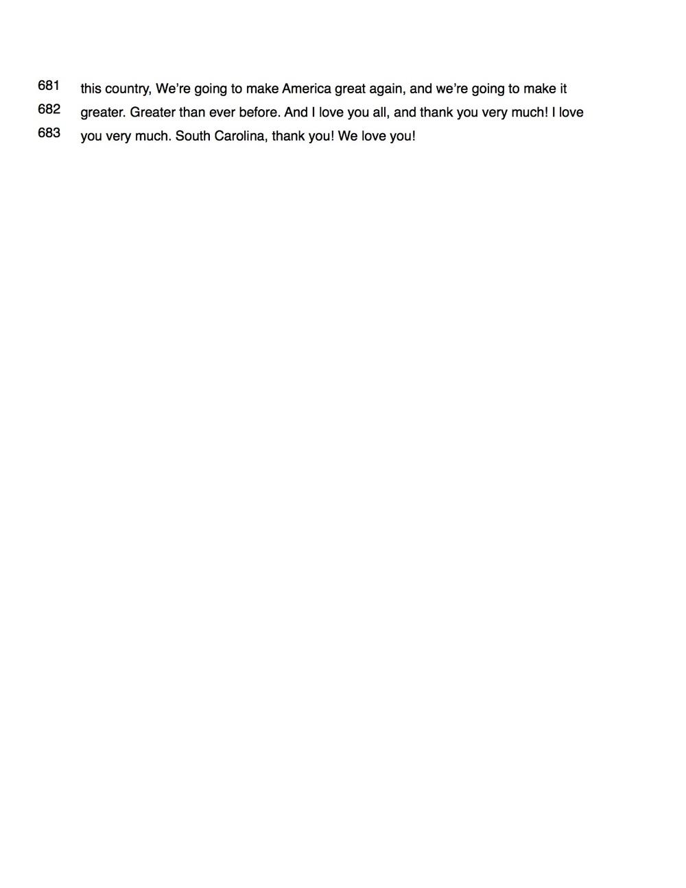 Transcript Of Trumps Yorktown Speech Areopagus