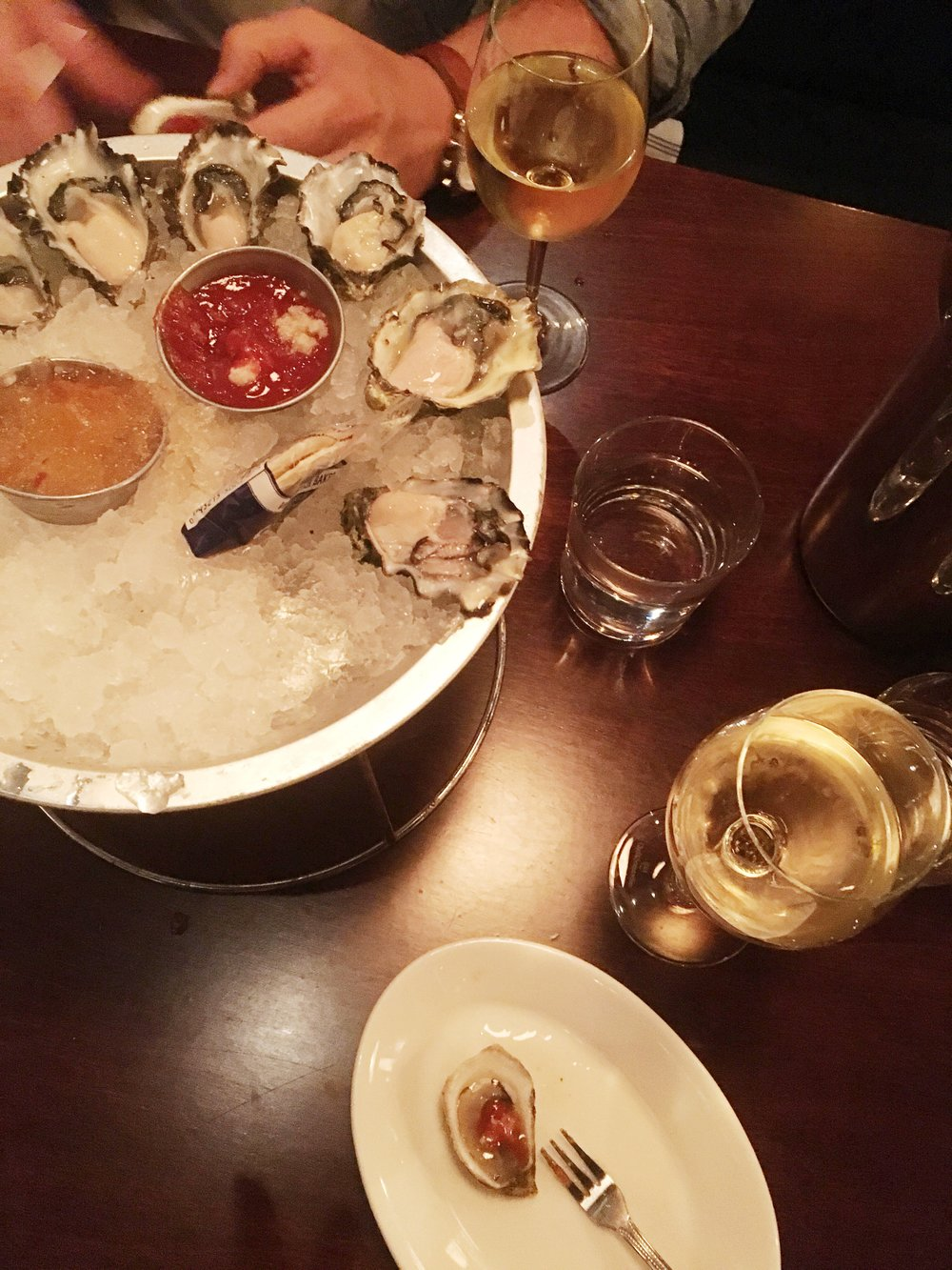 Oyster Bah, daily oysters