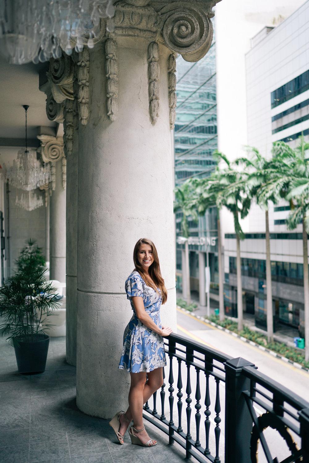 So Sofitel Singapore balcony