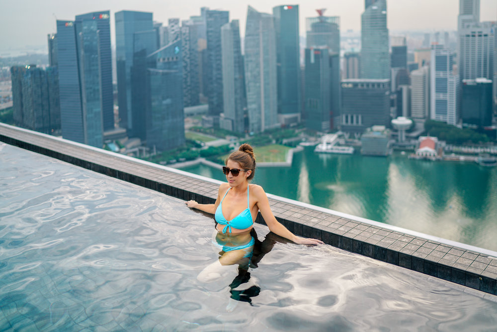 Marina Bay Sands Singapore Never Settle Travel