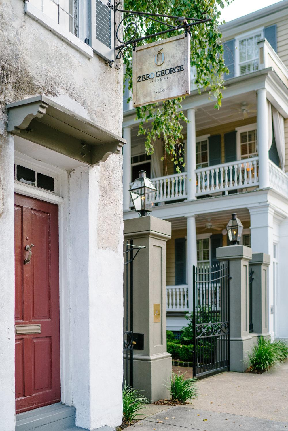 Zero George Street in Charleston   Never Settle Travel