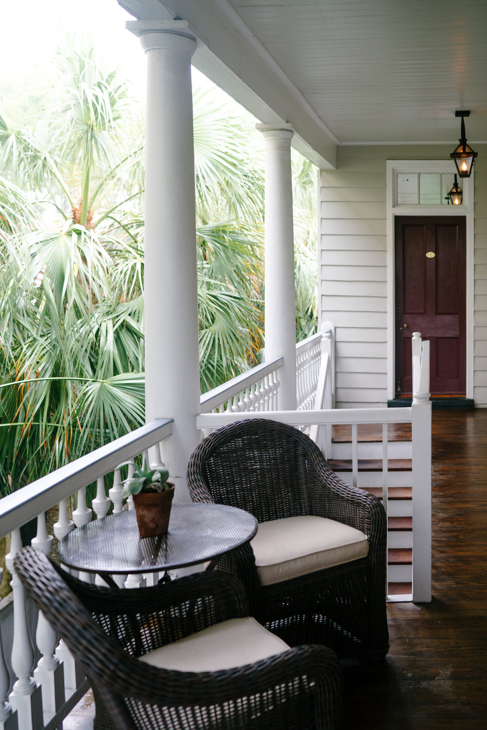 Charleston porches