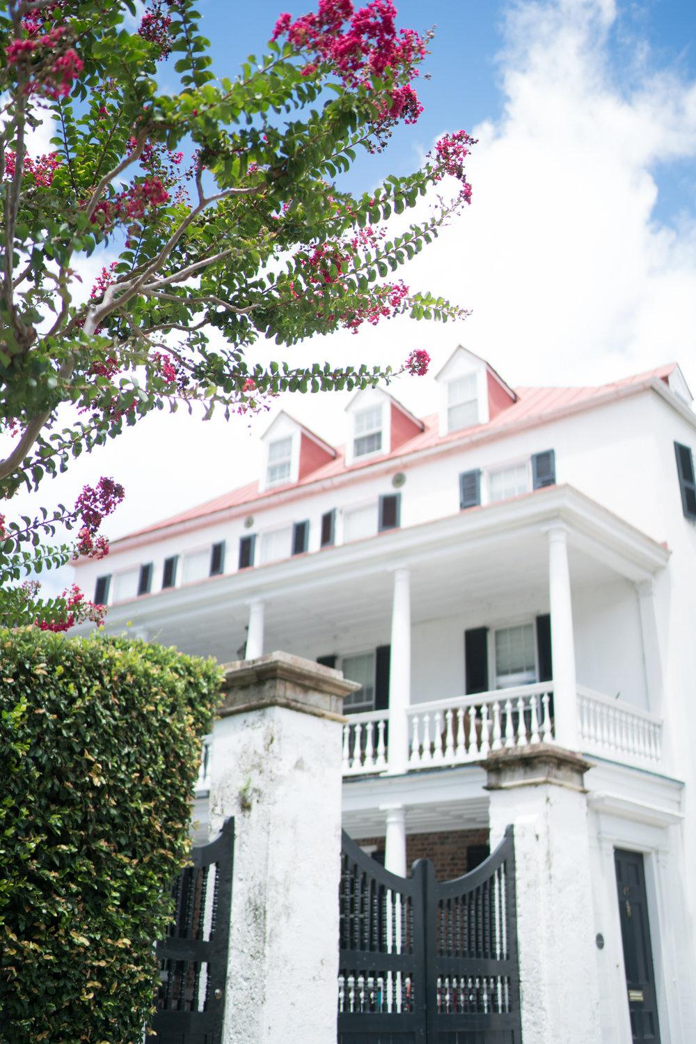 prettiest homes in Charleston