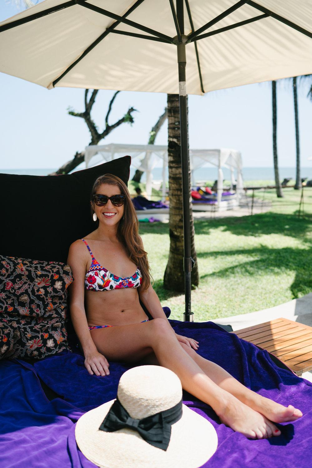 W Bali cabanas