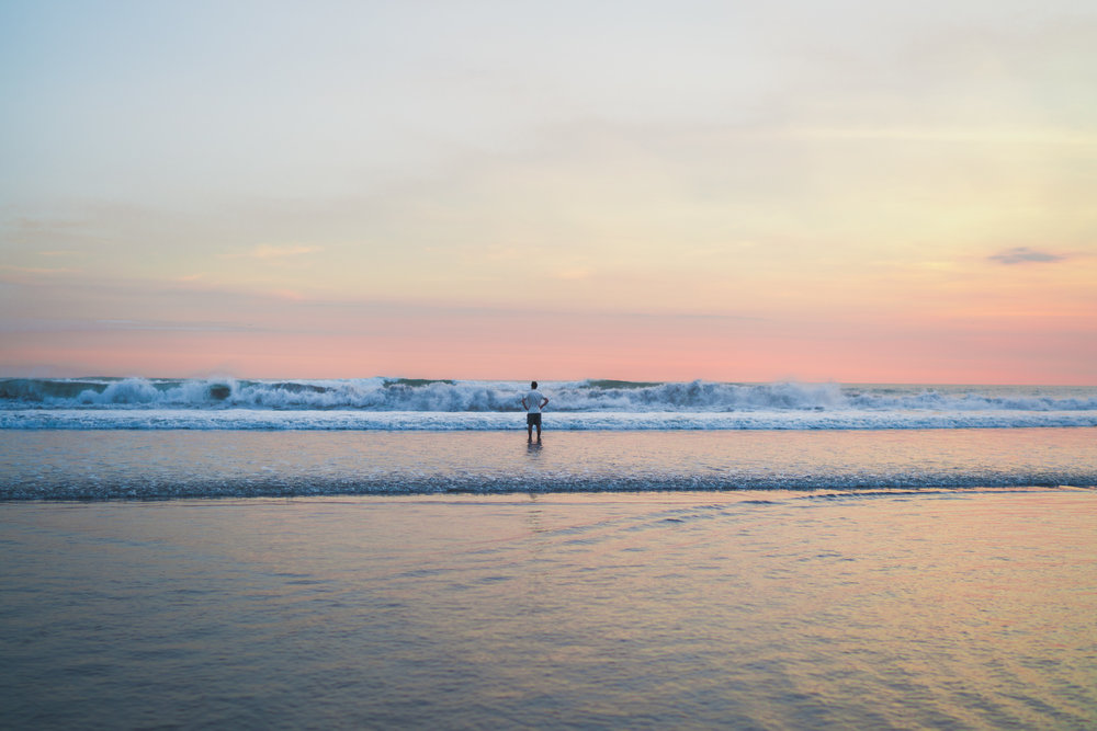 Seminyak beaches are known for their wild waves