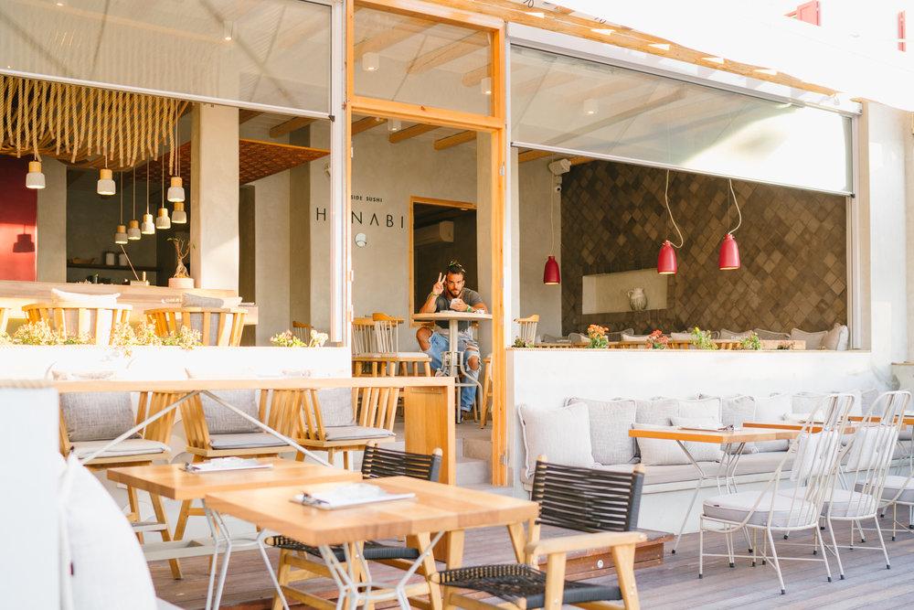 Hanabi Seaside Sushi, Milos, Greece