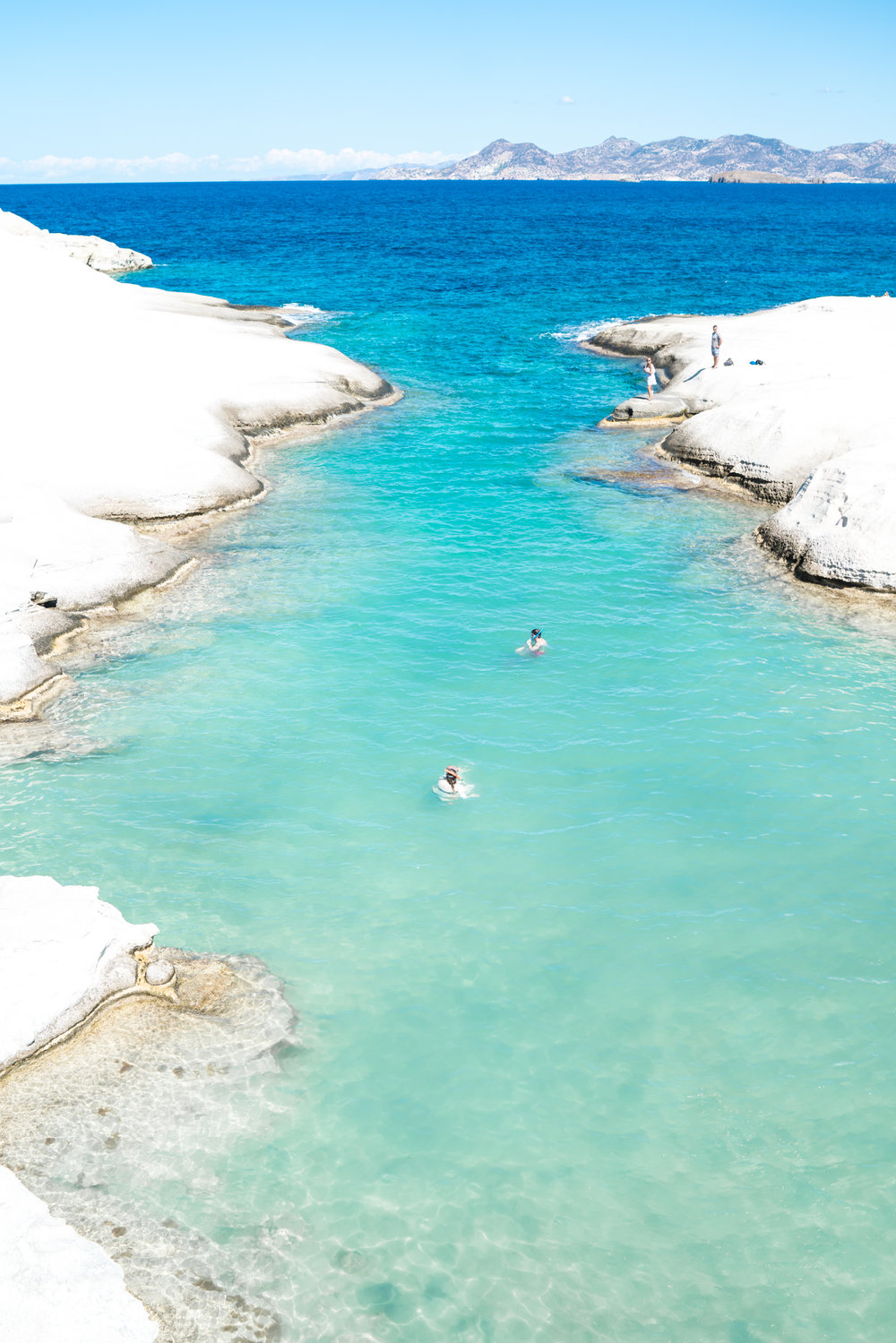 Best swimming spots in Greece