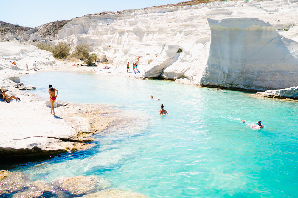 Sarakiniko Beach | Never Settle Travel