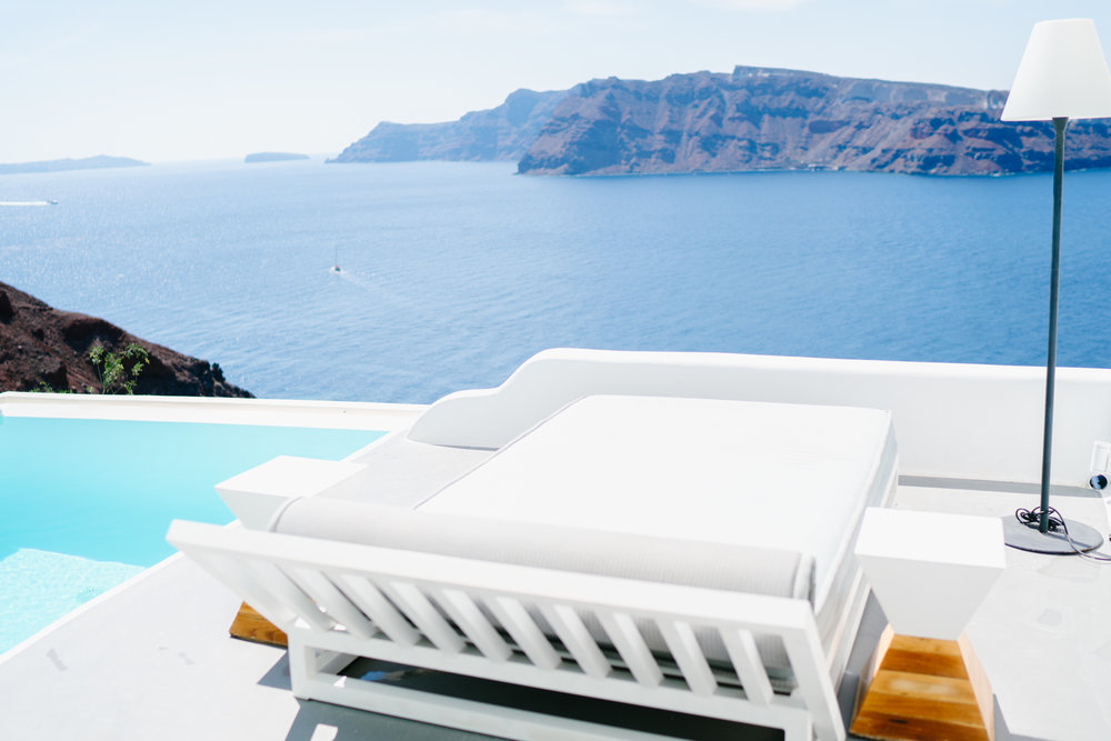 Main pool views