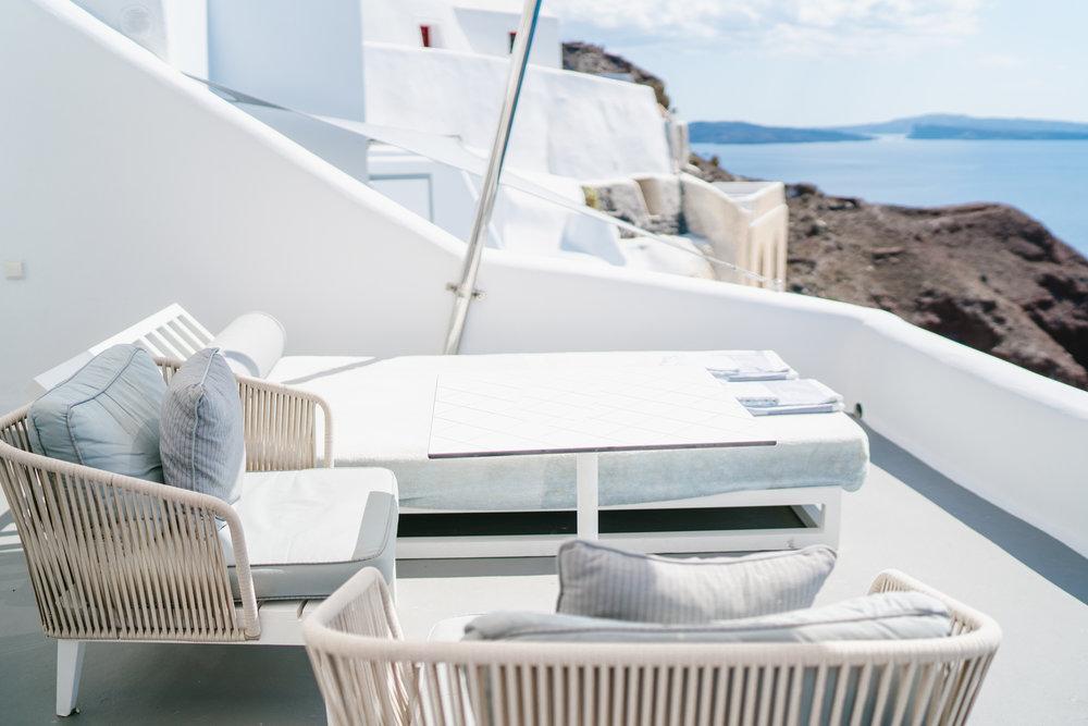 Charisma Suites balcony