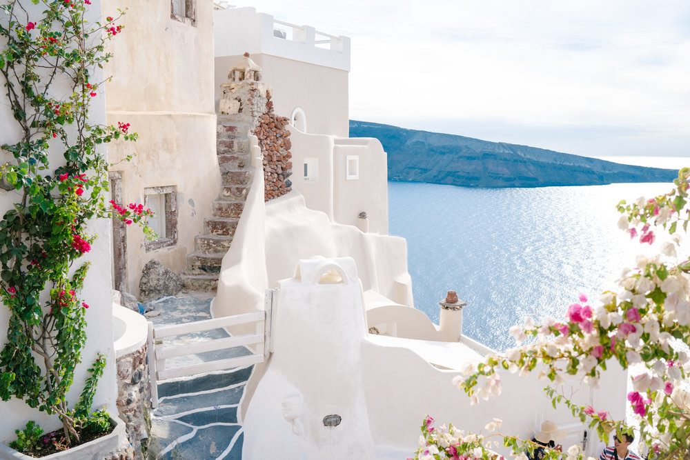 Stairs to Amoudi Bay, Oia, Santorini