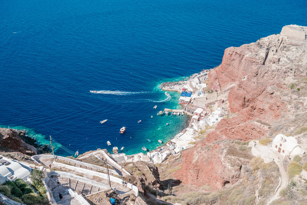 Amoudi Bay, Oia, Santorini