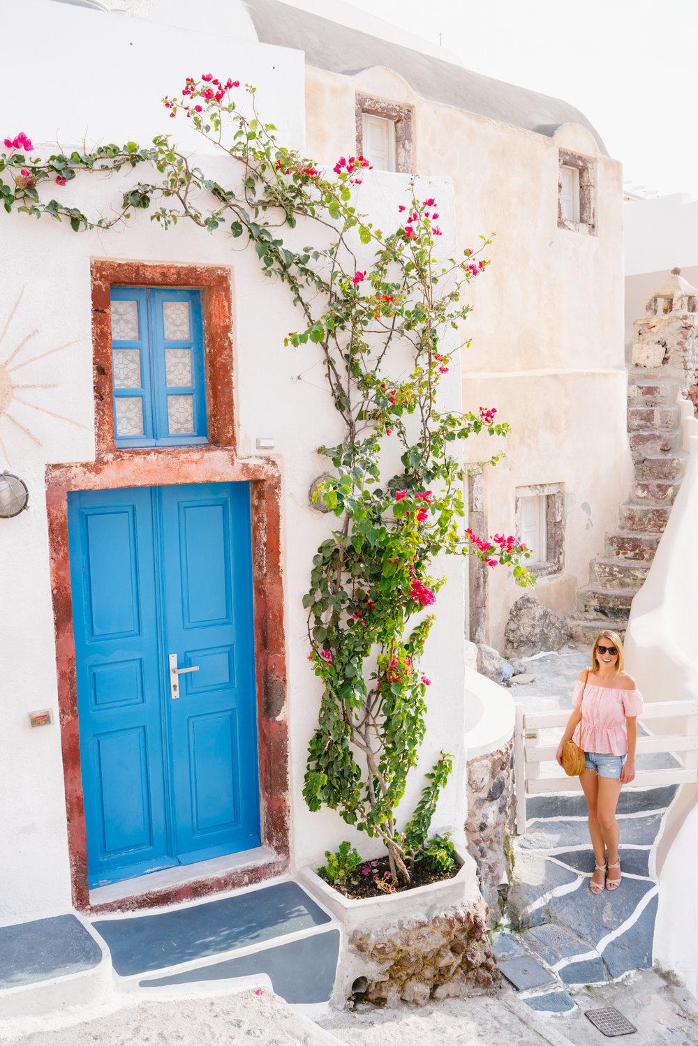 Exploring Santorini
