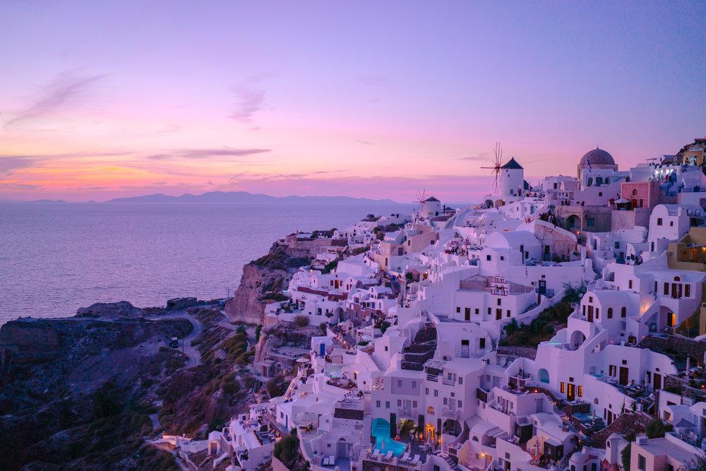Classic Oia sunset