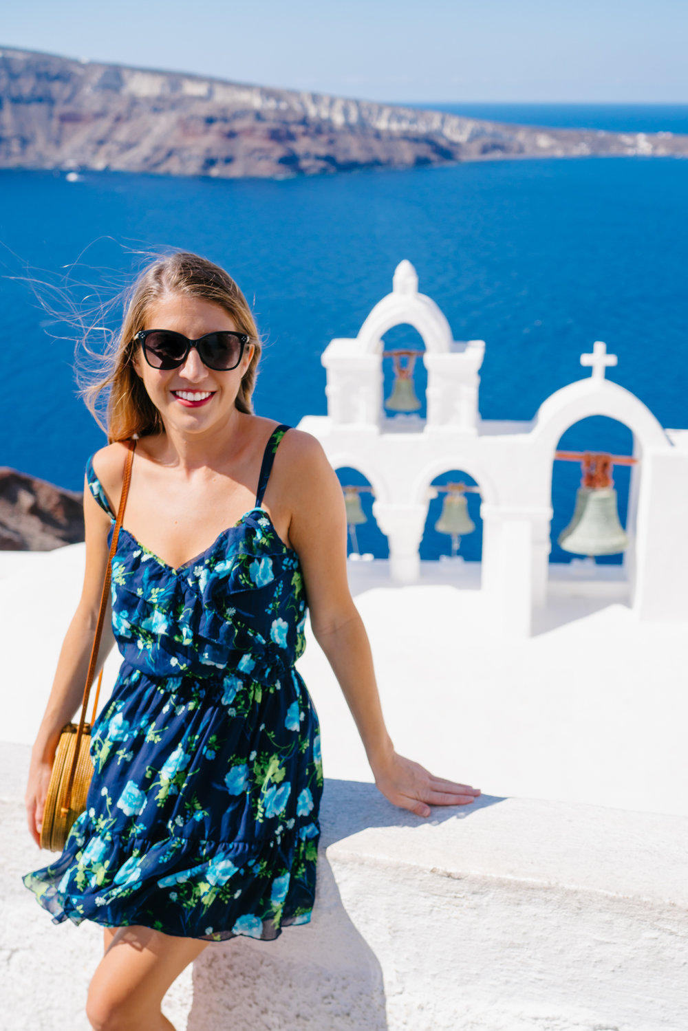 Church bells with the best view in Santorini