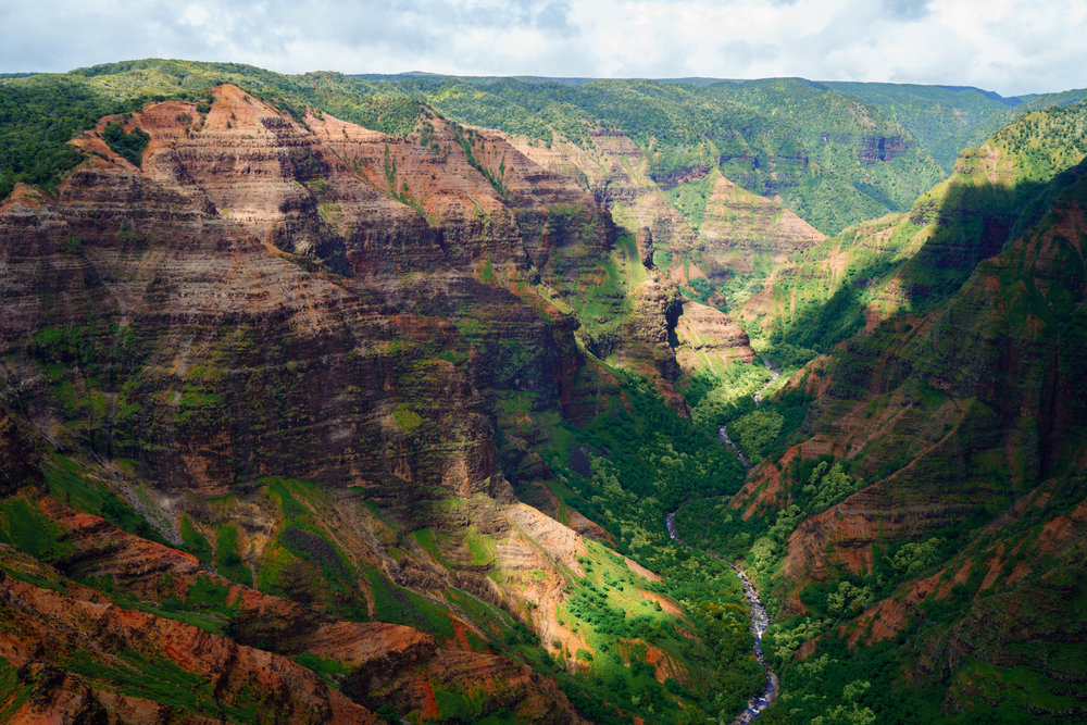 Aerial view of Waimea Canyon | Never Settle Travel