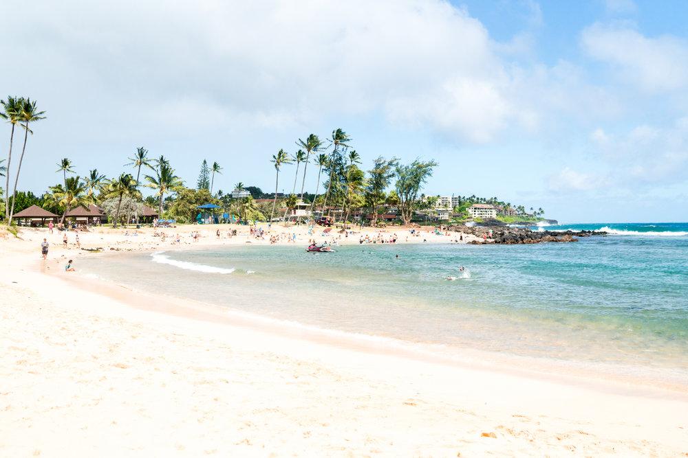 Poipu Beach Park Kauai | Never Settle Travel