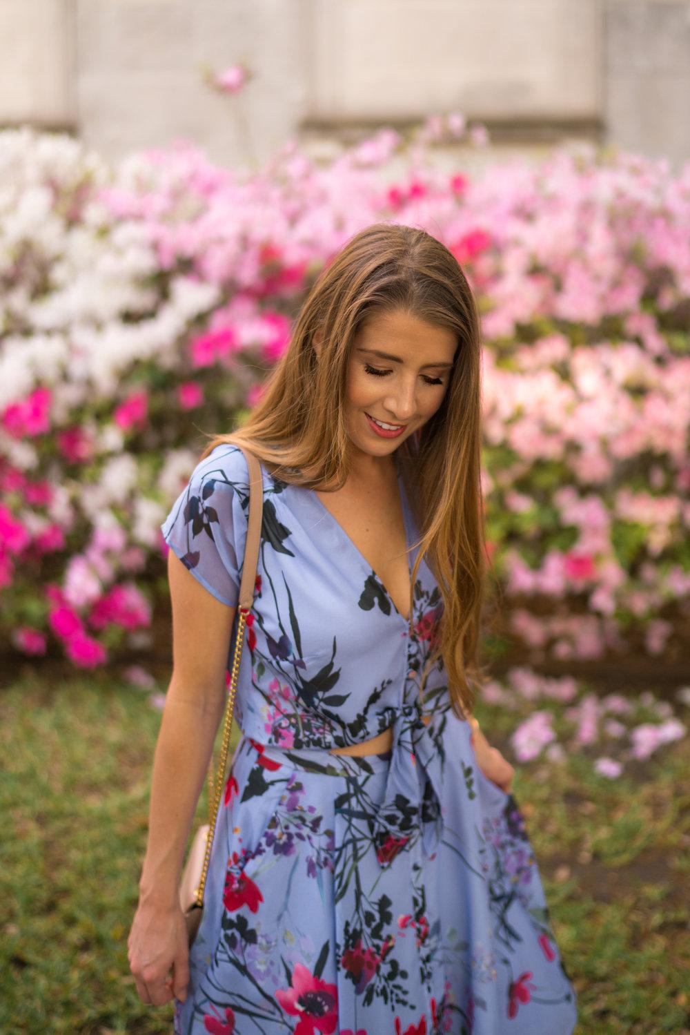 Yumi Kim Floral Midi Dress