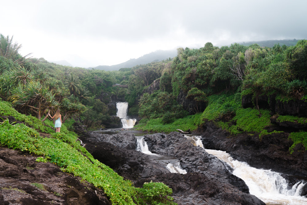 Seven Sacred Pools on The Road to Hana | Never Settle Travel