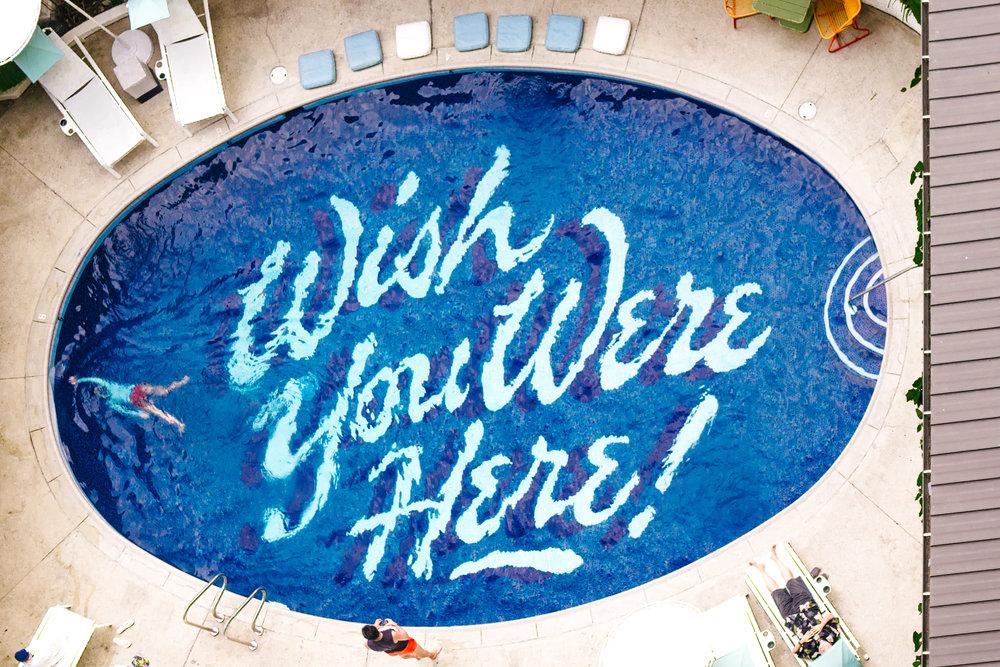 Surfjack Hotel and Swim Club Wish You Were Here Pool