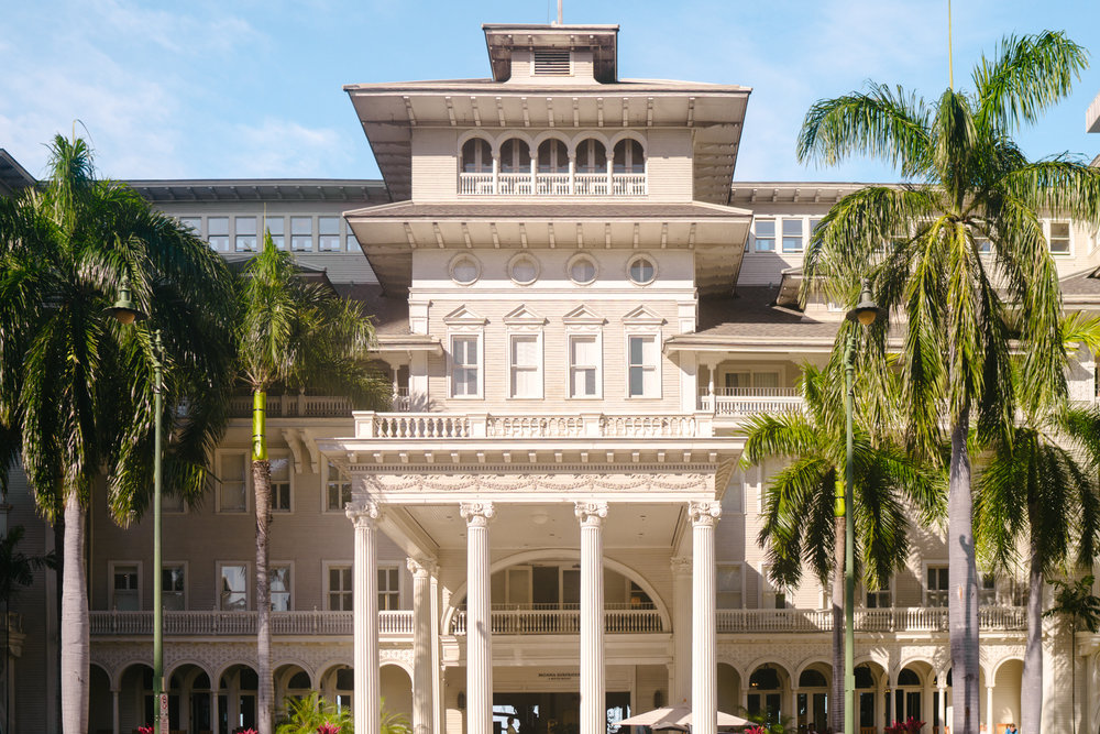 The Moana Surfrider Resort and Spa