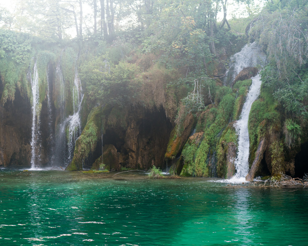 Beautiful waterfalls in Croatia