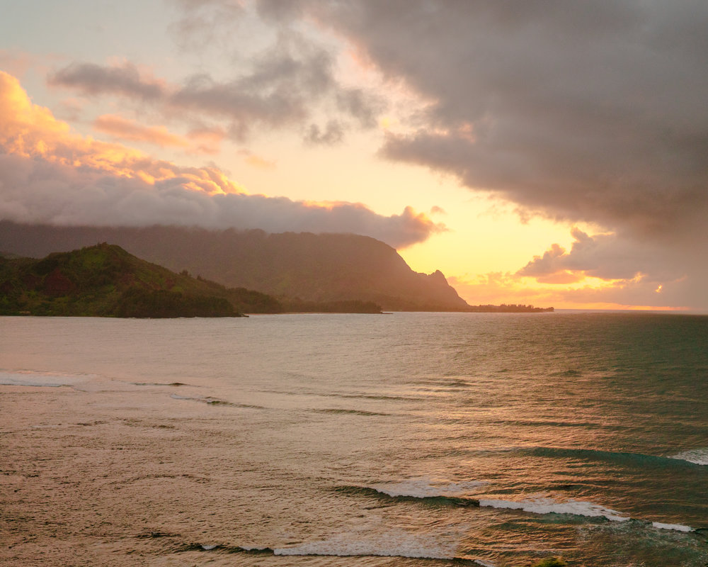 Best sunset view in Kauai