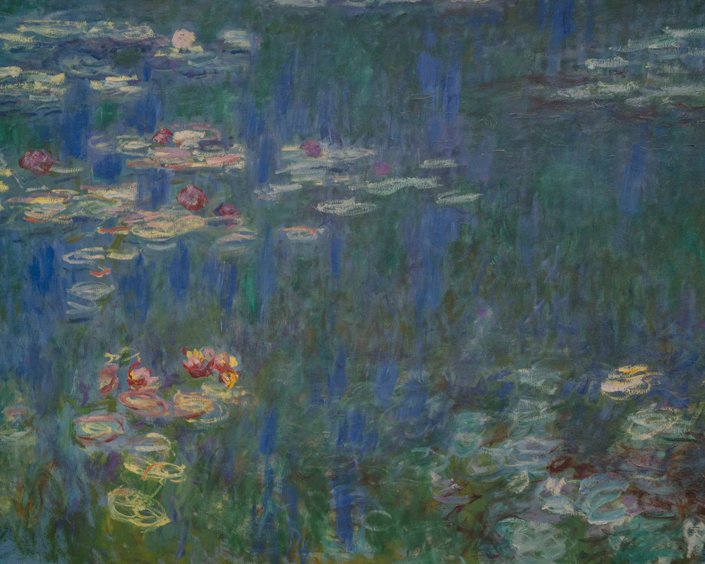 "Claude Monet's ""Water Lilies"""