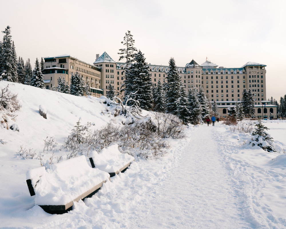 A winter wonderland at Fairmont Chateau Lake Louise