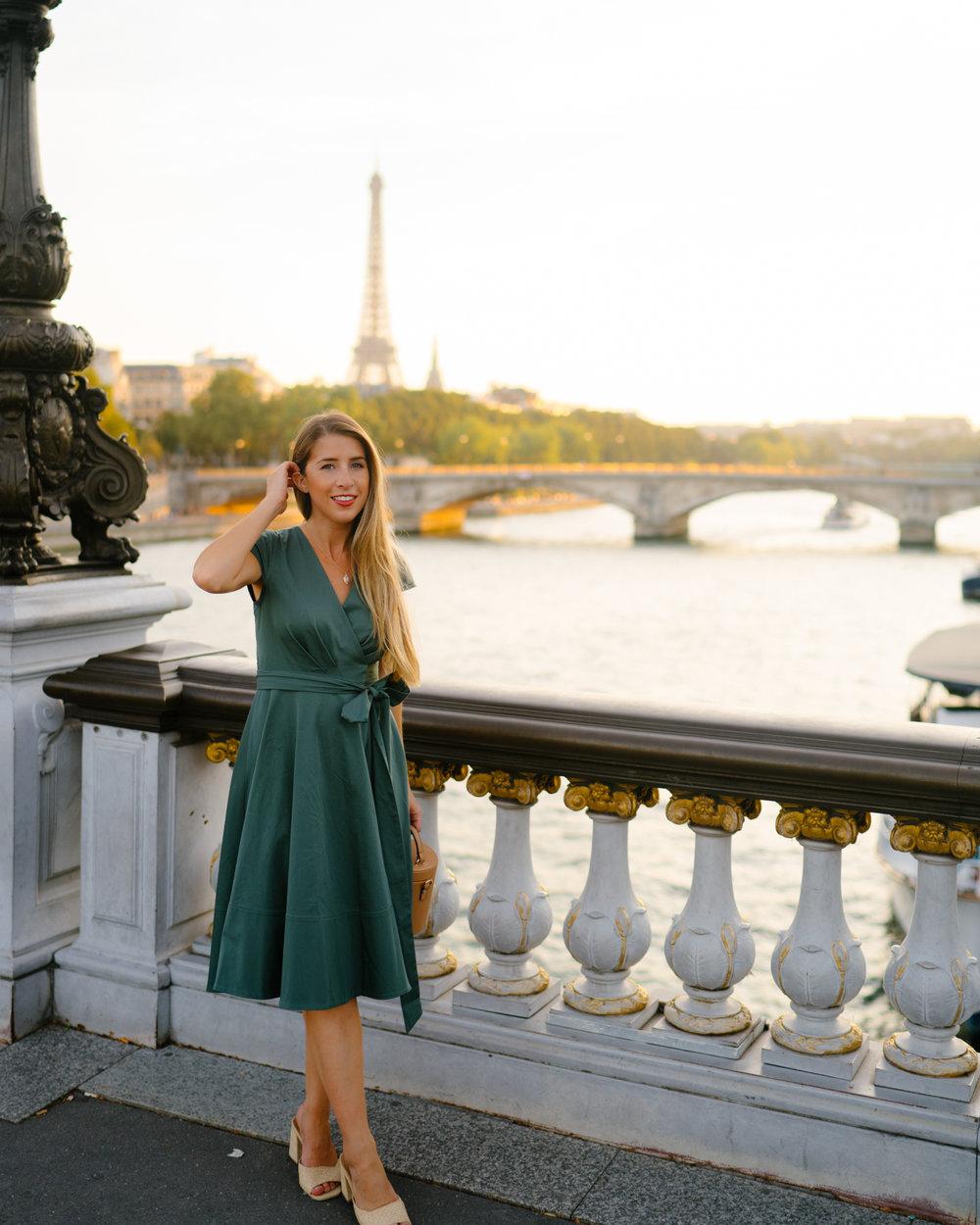 Gal Meets Glam Dress in Paris