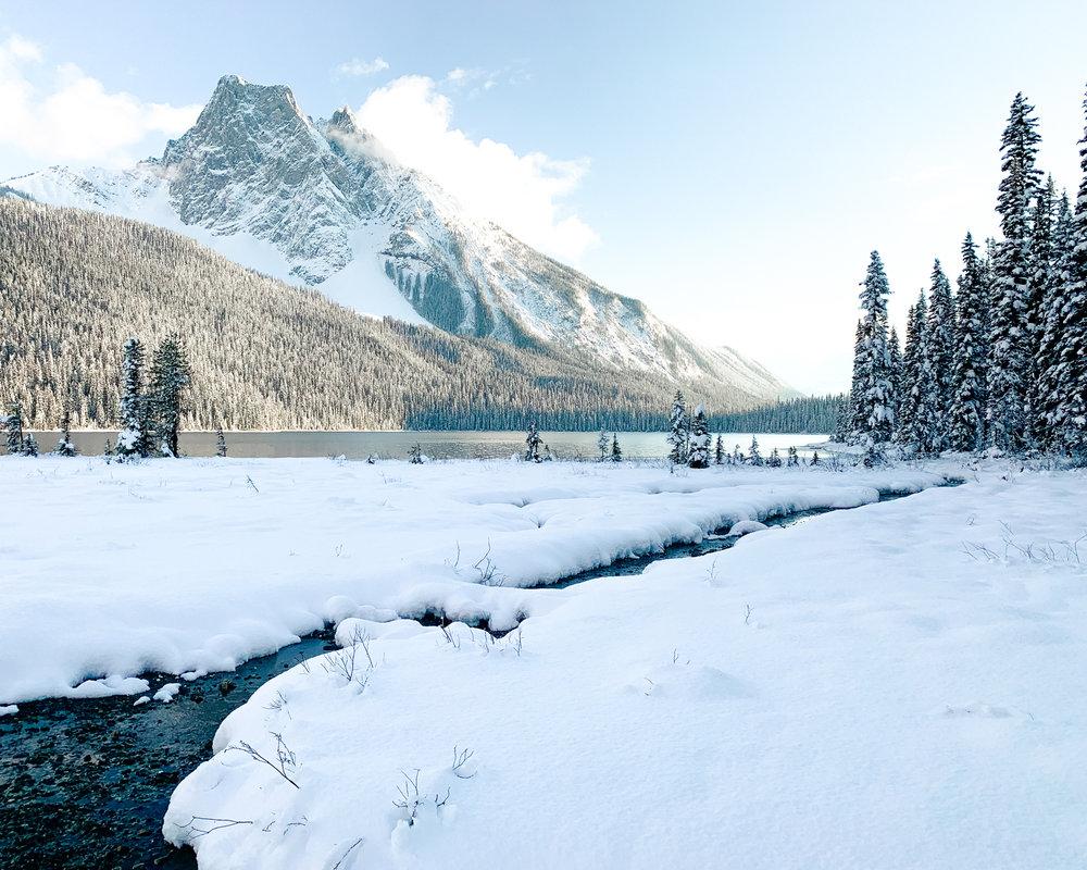 Emerald Lake Yoho National Park British Columbia
